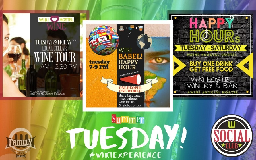 WIKI EXPERIENCE DAILY - SUMMER 2019 - tuesday
