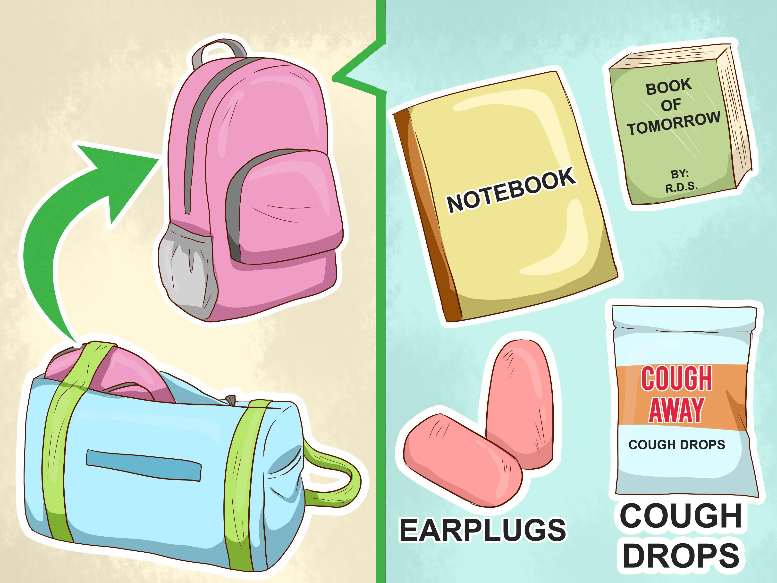 Back To School Printable School Bag Packing List Kids