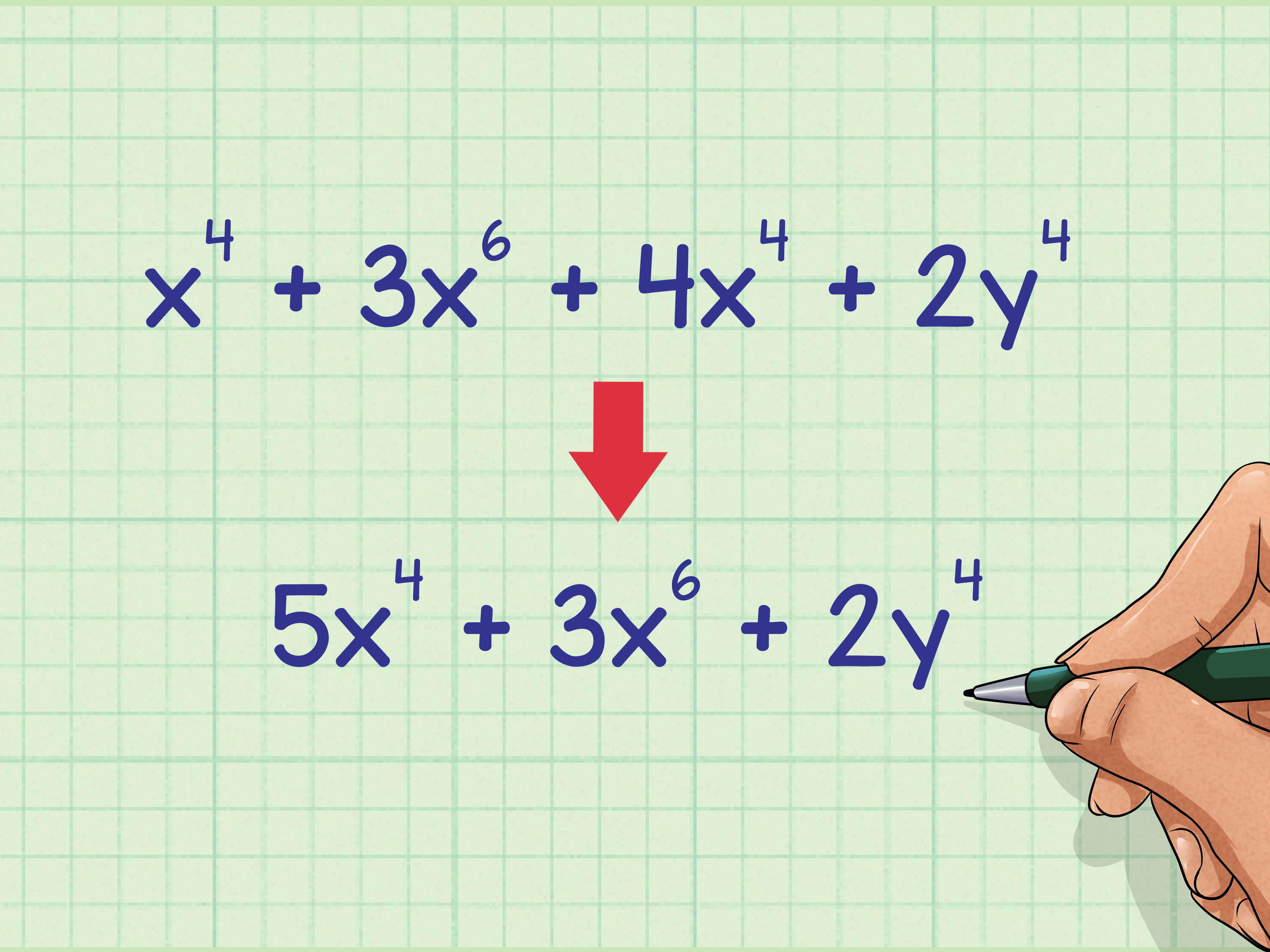 2 Easy Ways To Add Exponents With Pictures