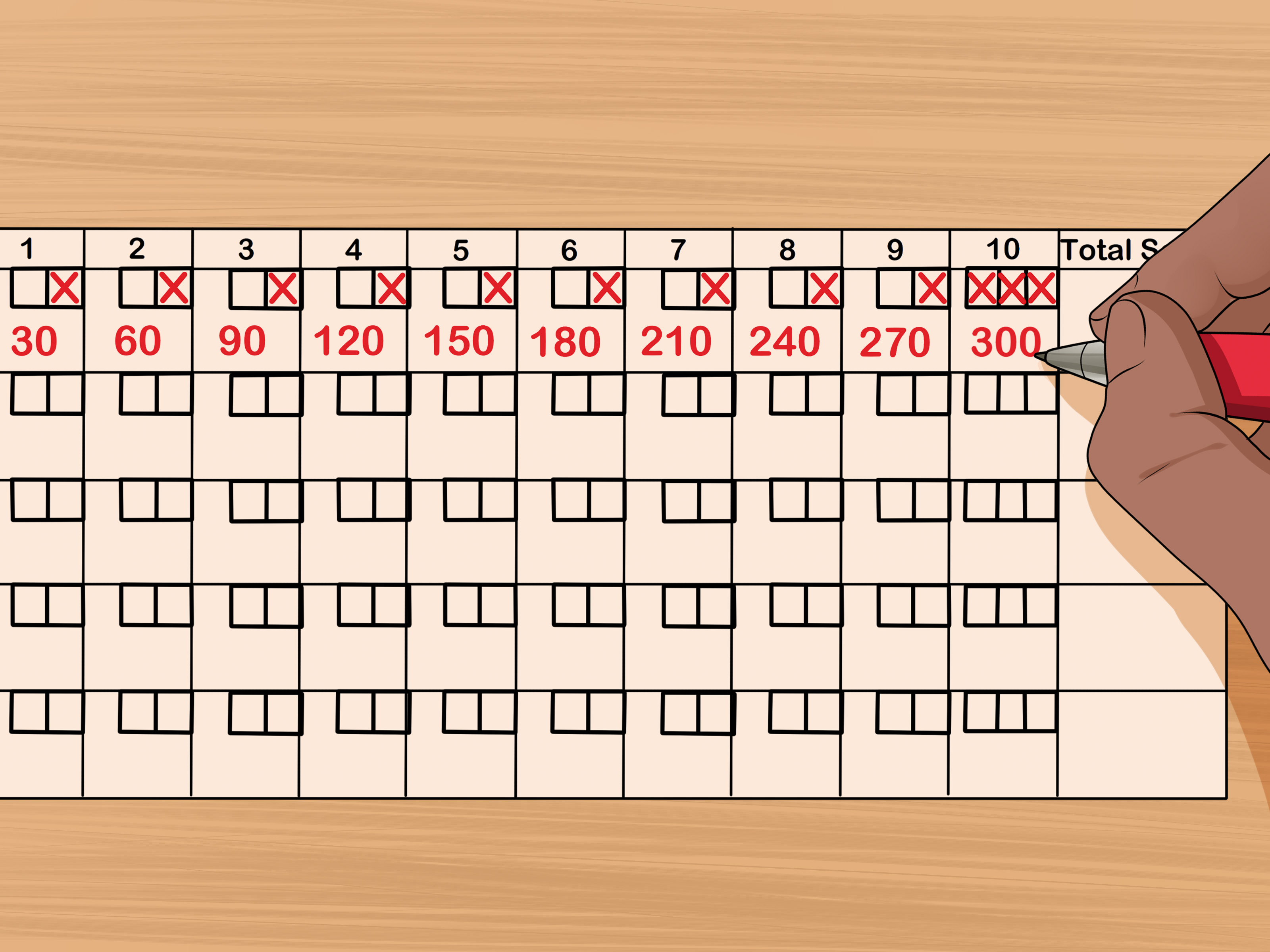 How To Score Bowling 14 Steps With Pictures
