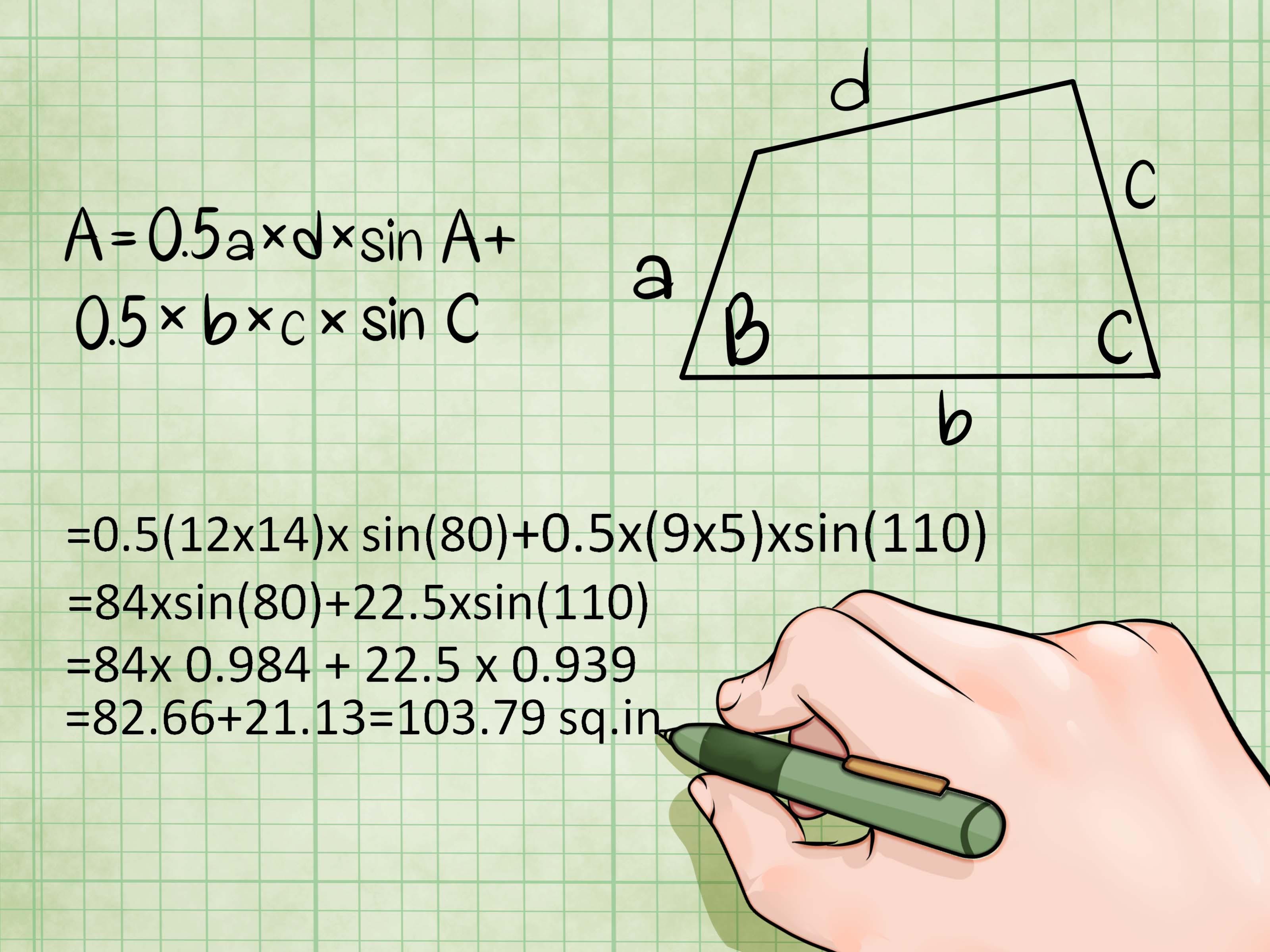 4 Modi Per Calcolare L Area Di Un Quadrilatero