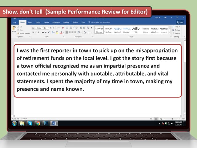 How to Write Your Own Performance Review (with Pictures) - wikiHow