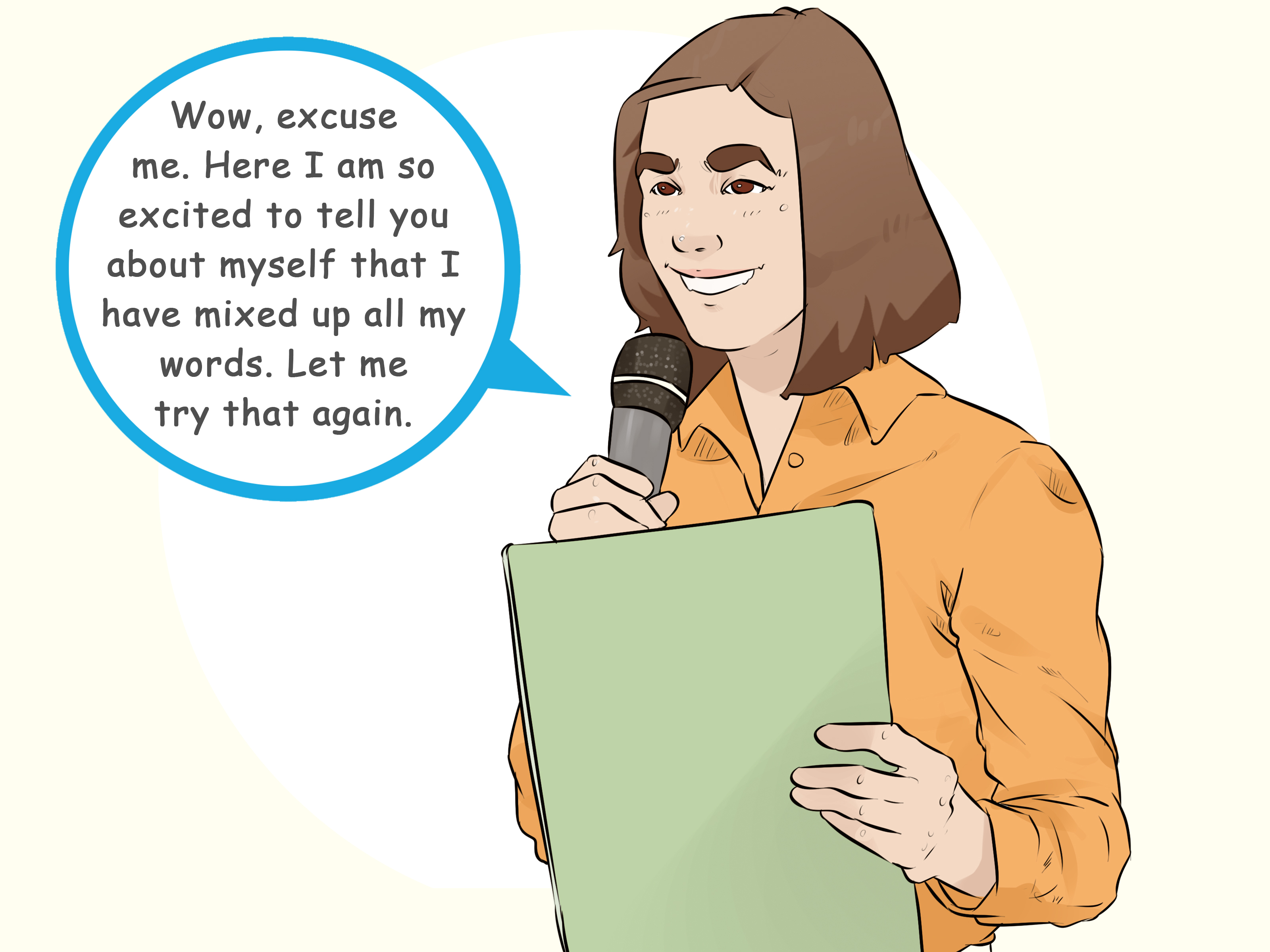 How To Write A Speech Introducing Yourself With Sample