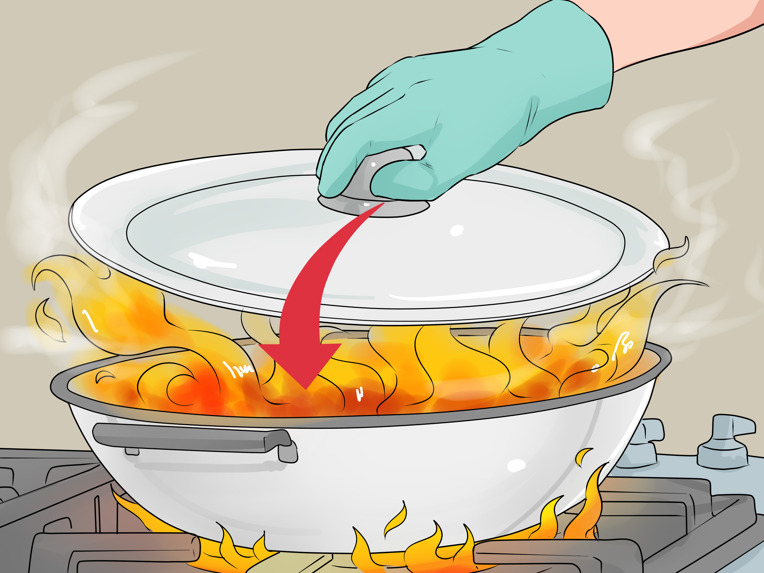 How To Prevent A Kitchen Fire 13 Steps With Pictures