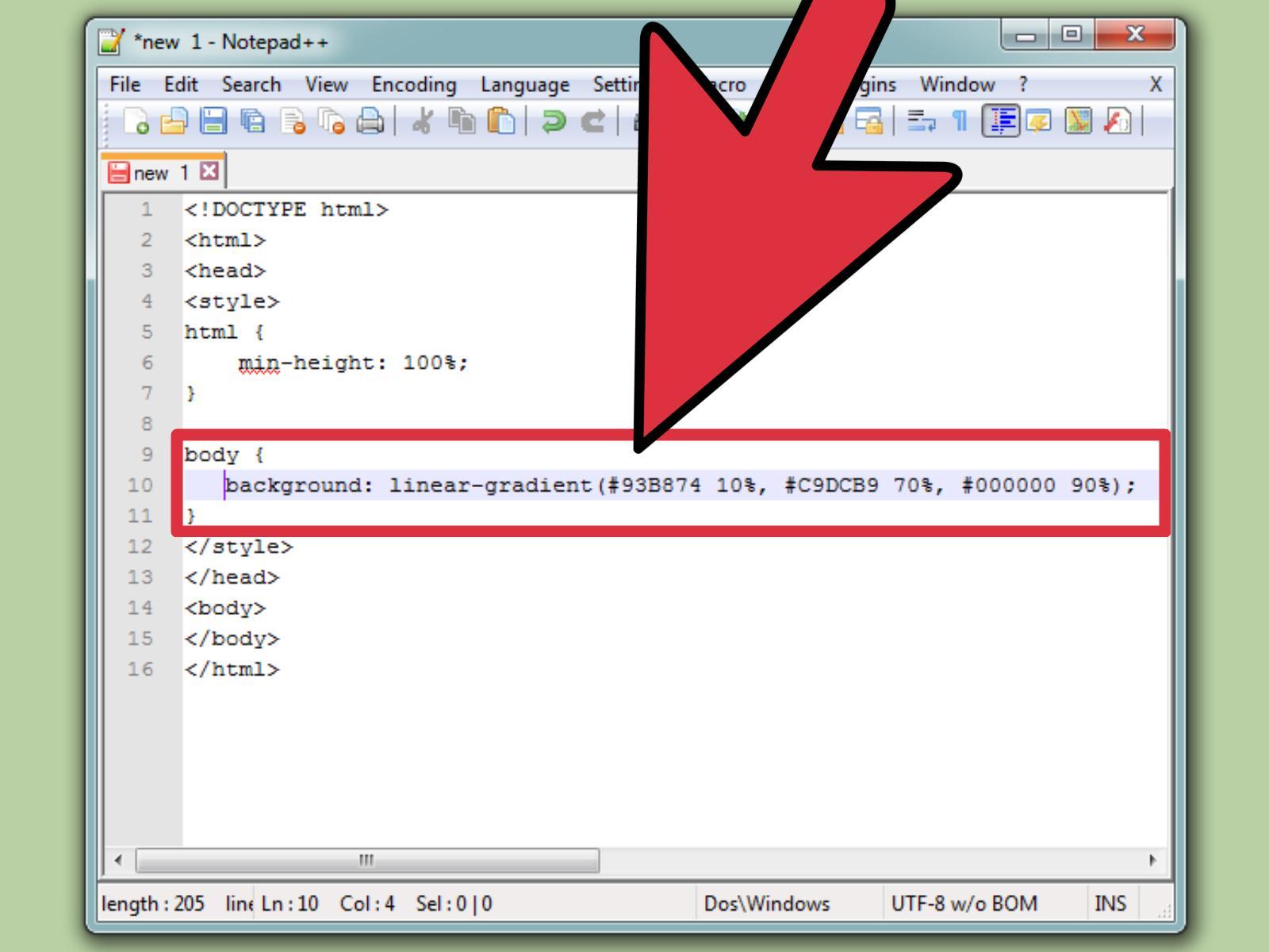 4 Formas De Establecer El Color De Fondo En HTML
