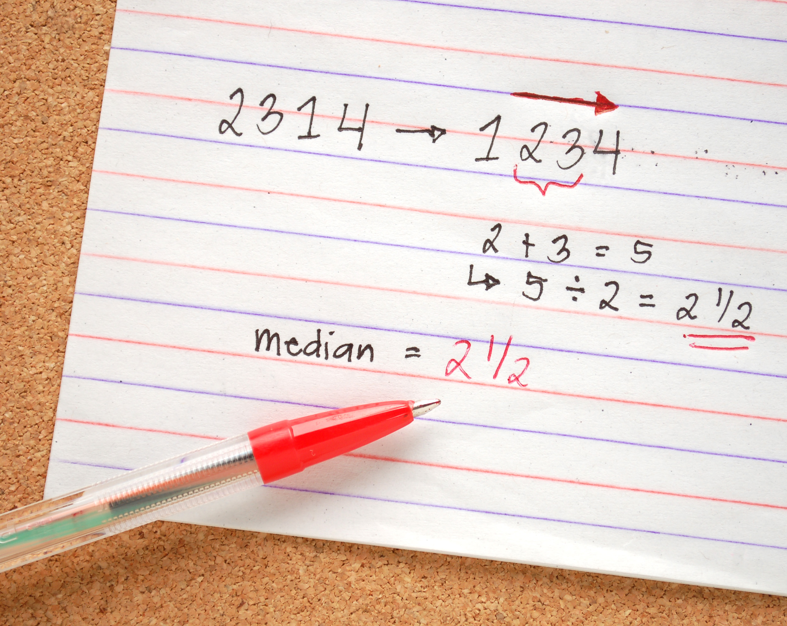 How To Find The Median Of A Set Of Numbers 6 Steps