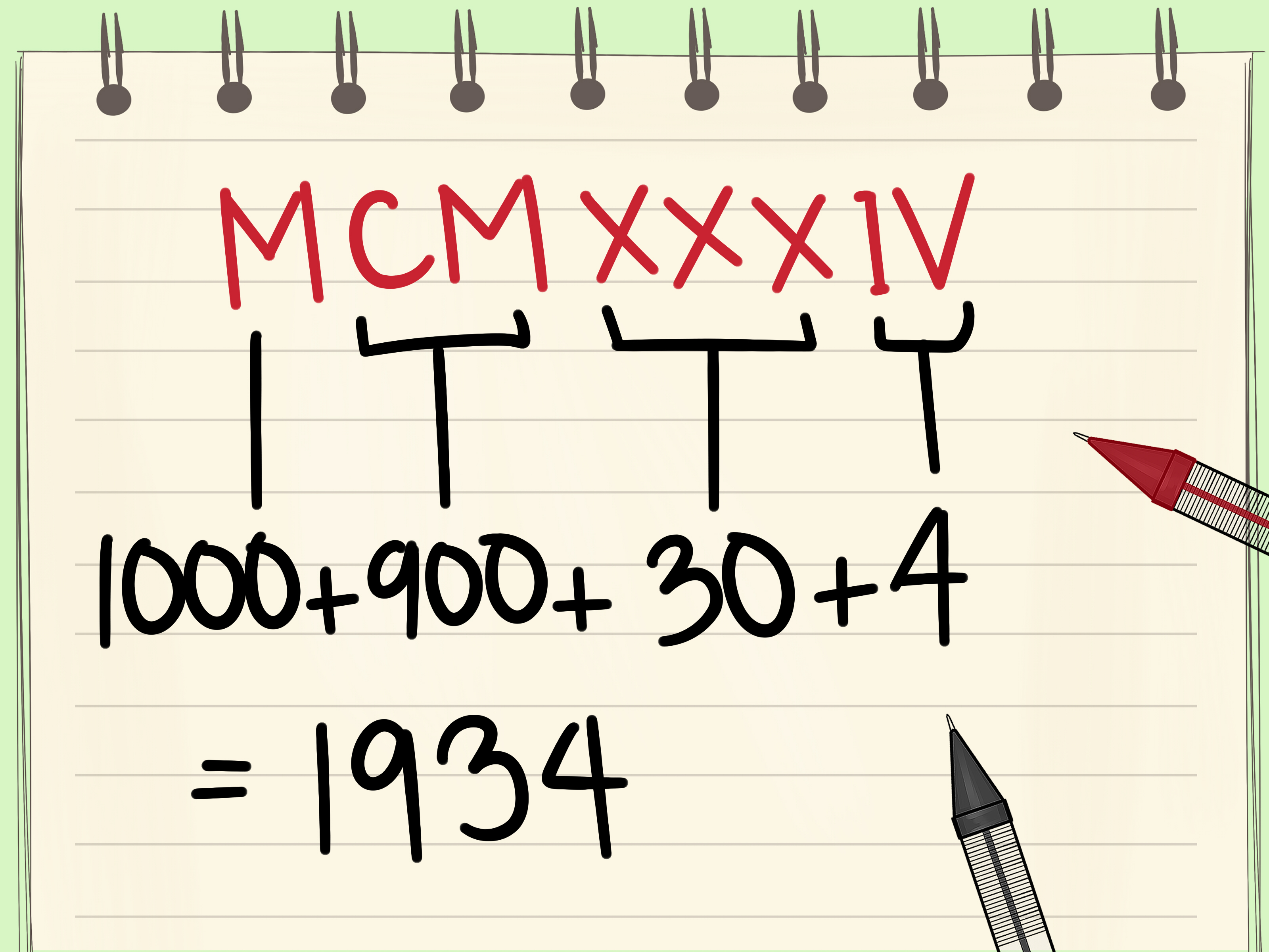 How To Use Roman Numerals 8 Steps With Pictures
