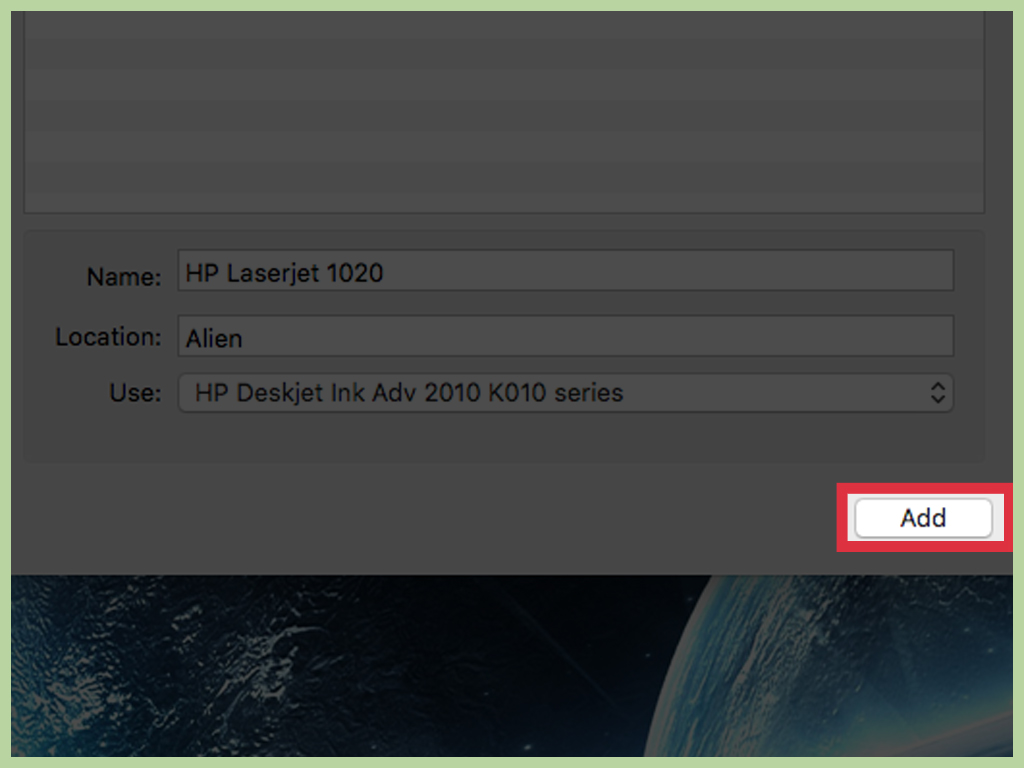 How To Install Drivers For The Hp Laserjet 1020 On Mac Os X