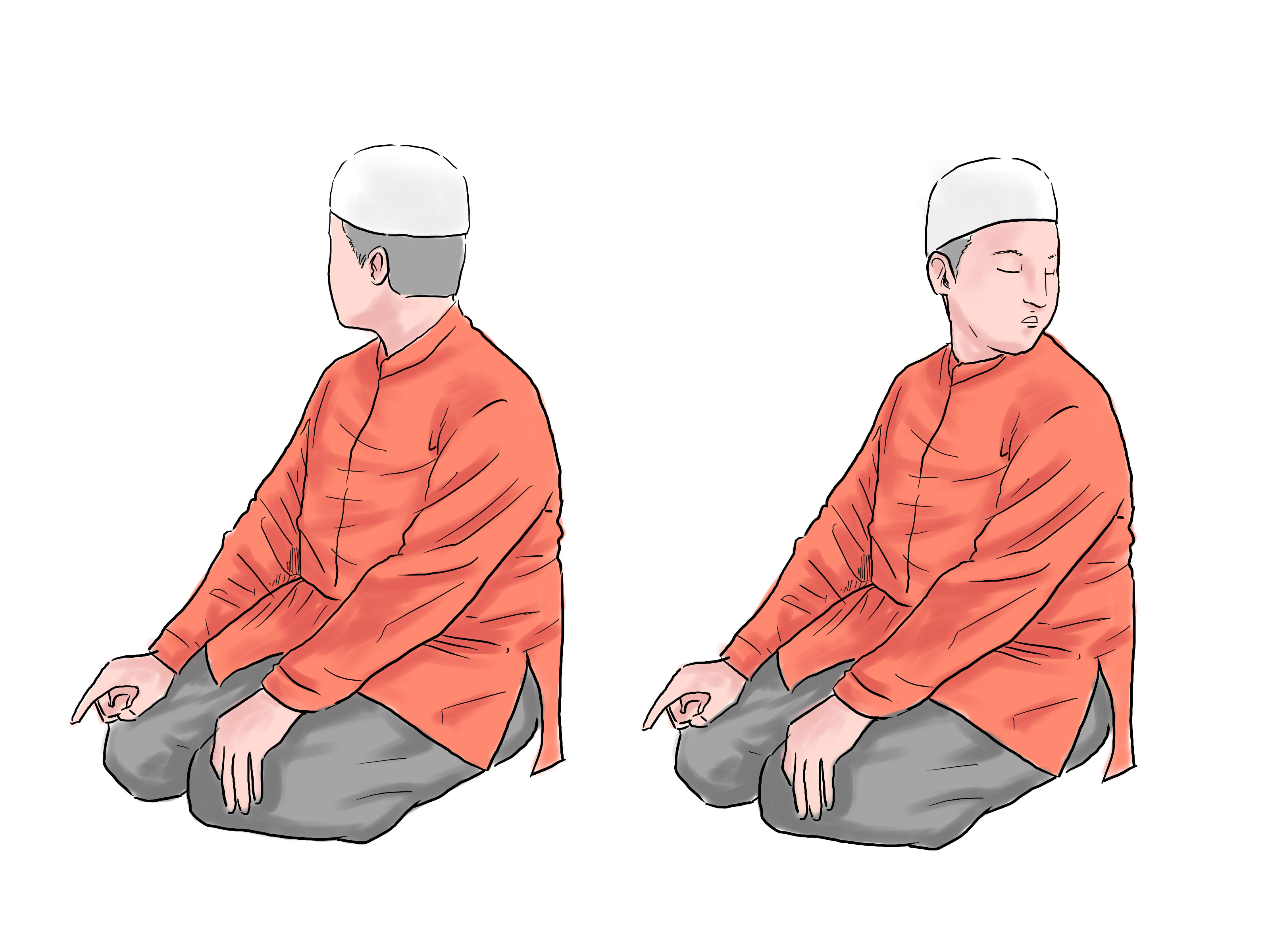 How To Pray In Islam With Pictures