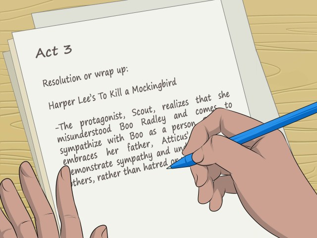 14 Ways to Write an Outline for a Story - wikiHow