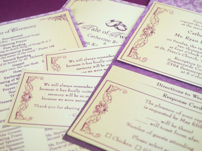 How To Wedding Invitations 12 Steps With Pictures