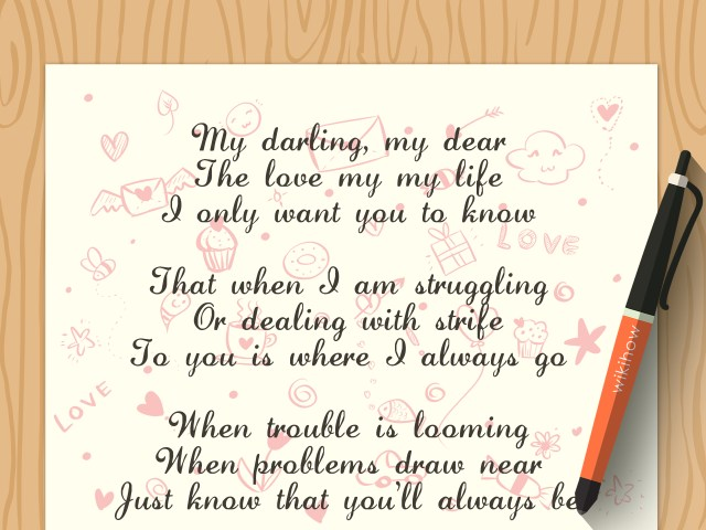 How to Write a Love Poem: 20 Steps (with Pictures) - wikiHow
