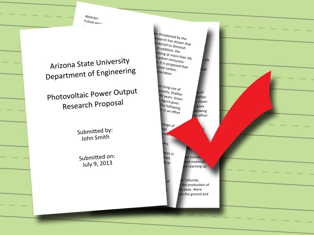Proposal Writing For Research Paper –