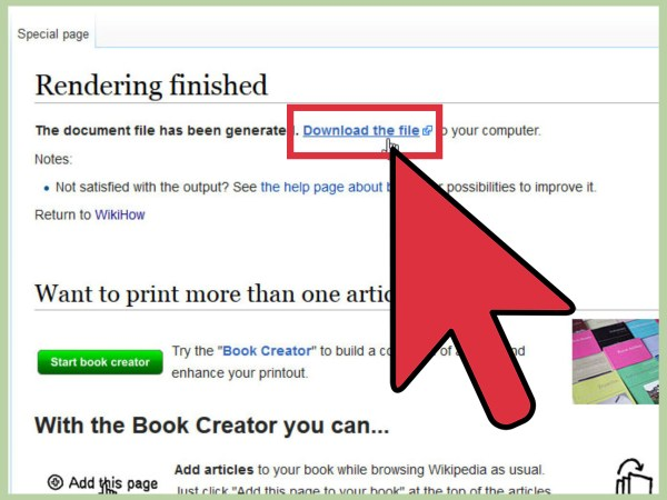 How to Download a Wikipedia Page as a PDF: 6 Steps (with ...
