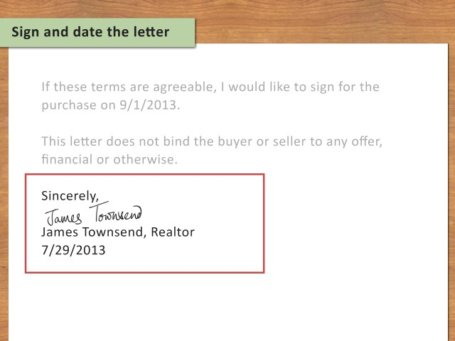 30 Ways to Write a Letter of Interest for a House - wikiHow