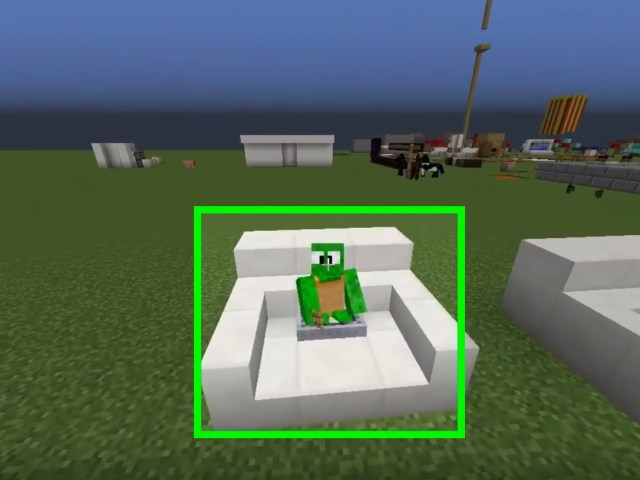 How to Build a Chair in Minecraft: 11 Steps (with Pictures)