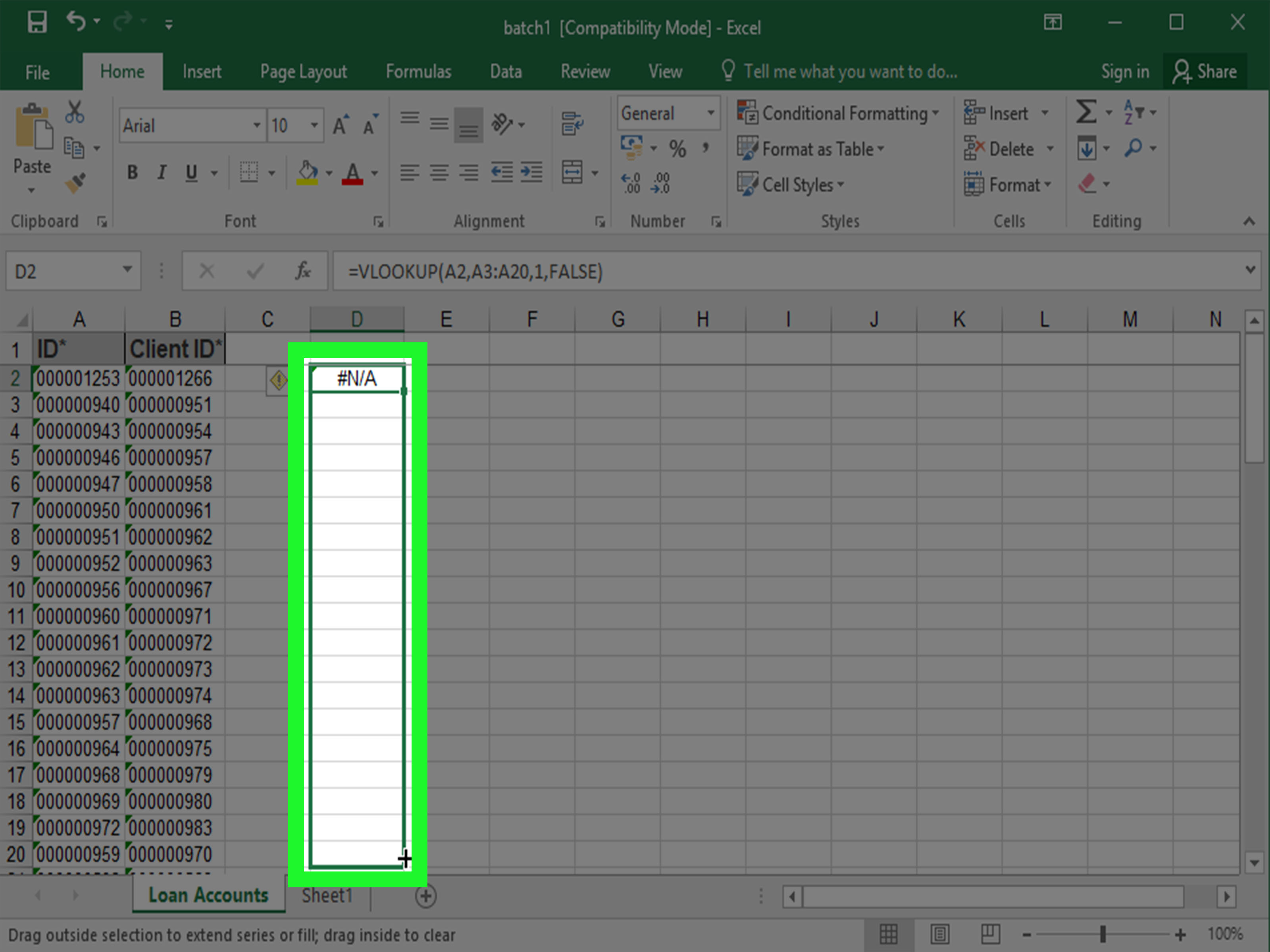 How To Compare Two Lists In Excel With Pictures