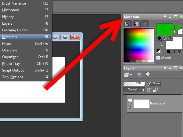 Cmo Encontrar La Paleta De Colores En Paint Shop Pro X3