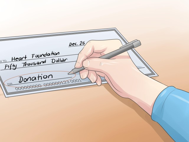 How to Write a Check: 16 Steps (with Pictures) - wikiHow
