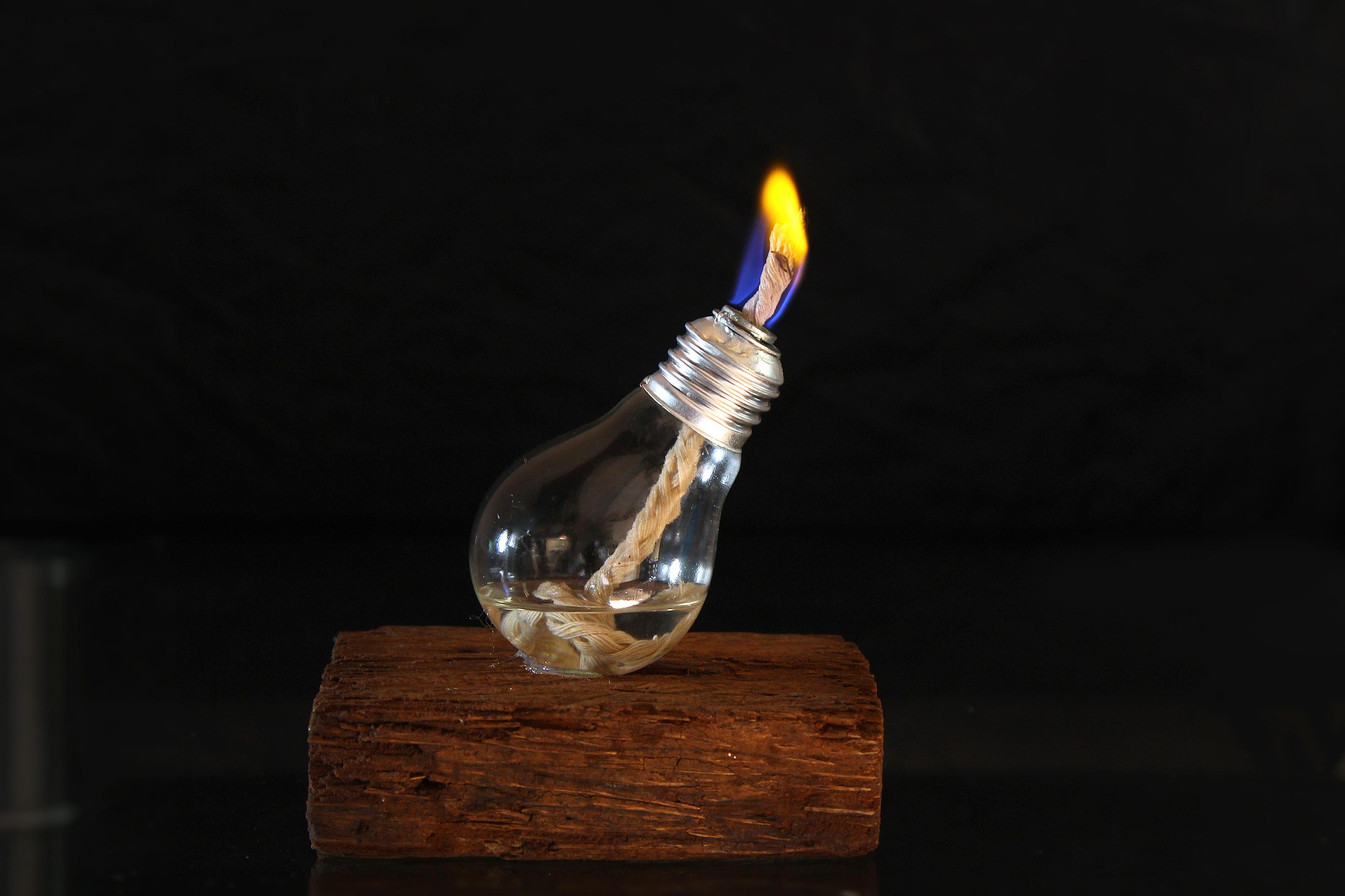 Oil Lamp Light Bulb