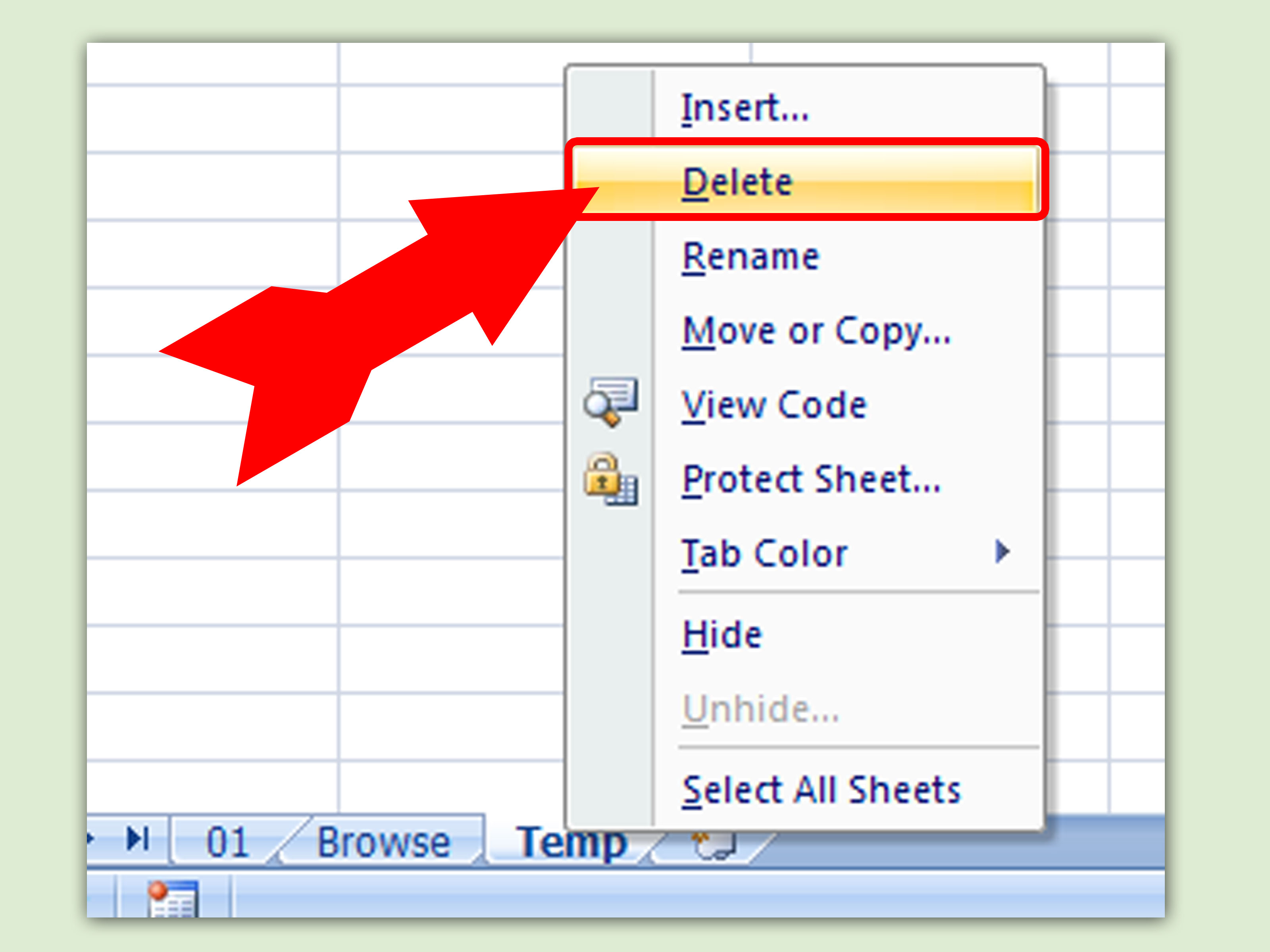 How To Create A Browse Tab In Excel With Pictures