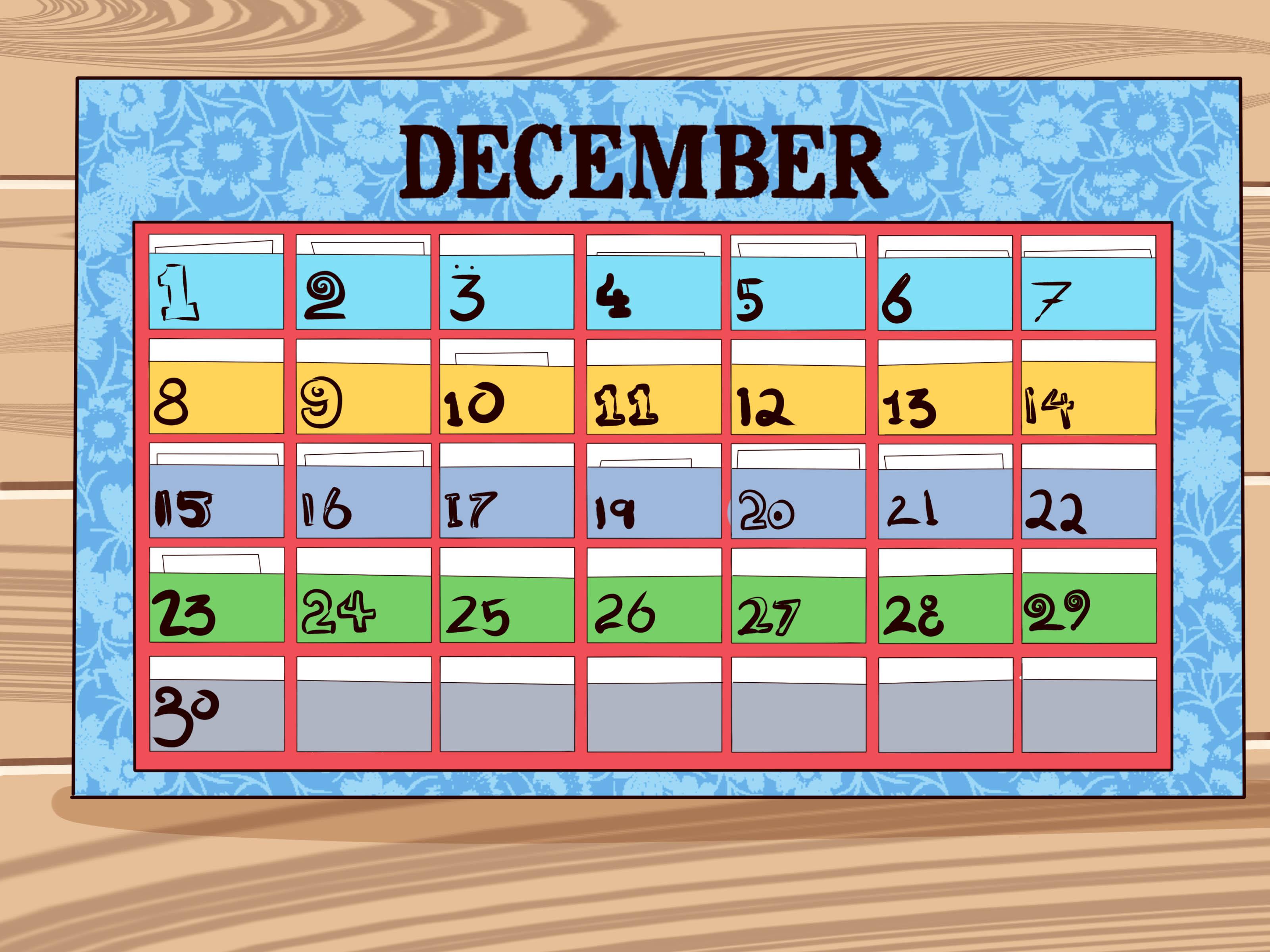 5 Ways To Make A Calendar