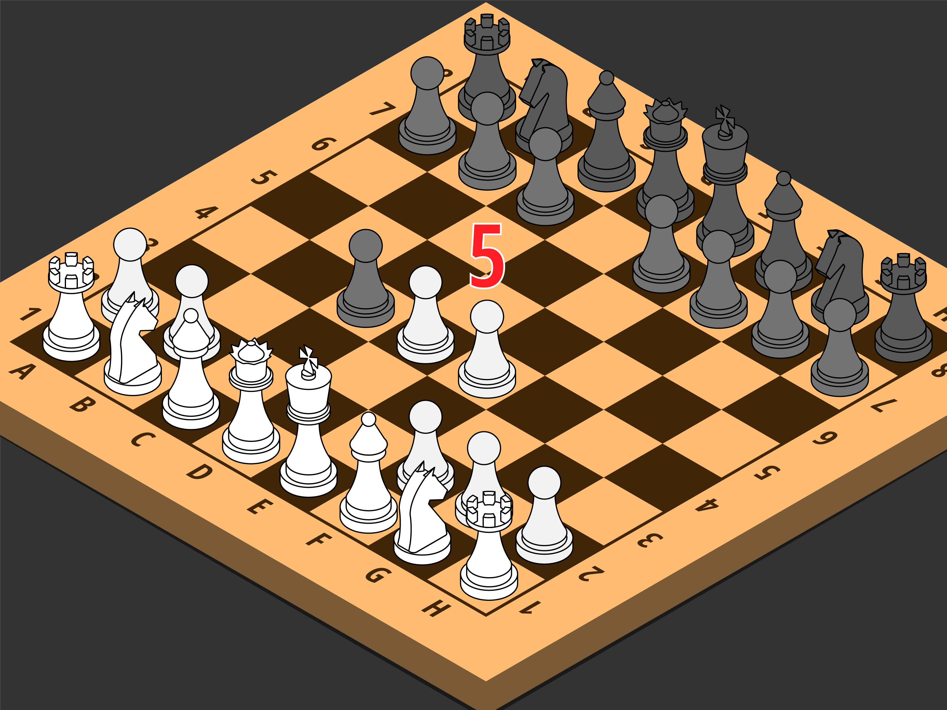 Two Move Checkmate In Chess Diagram A Is Called Quotat