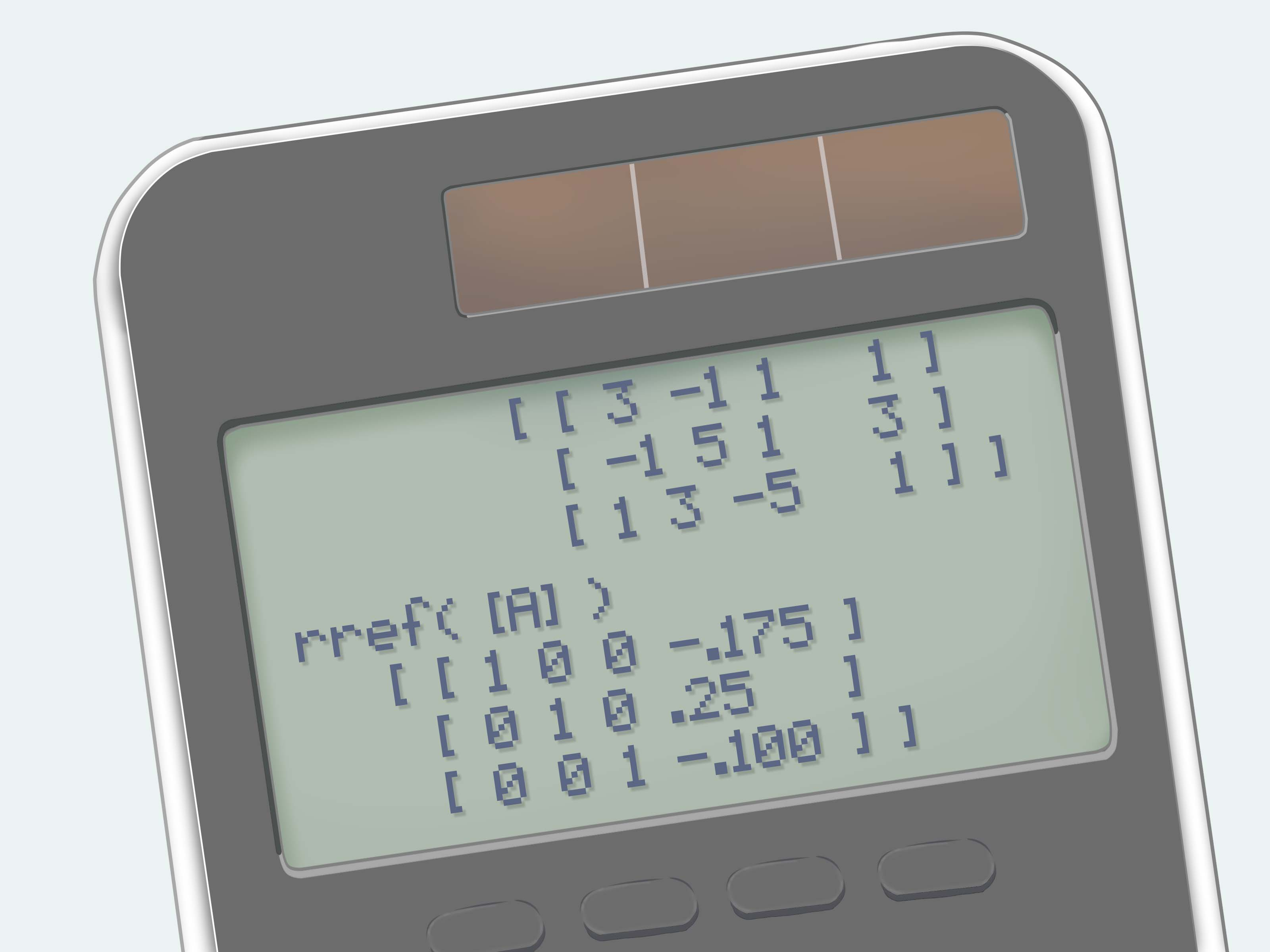 How To Use A Graphing Calculator To Solve A System Of
