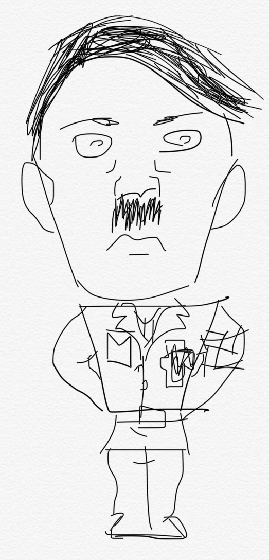 How To Draw Adolf Hitler With Pictures WikiHow
