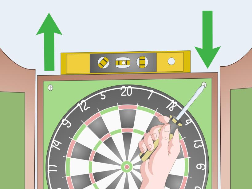 How To Hang A Dartboard Cabinet Www Redglobalmx Org