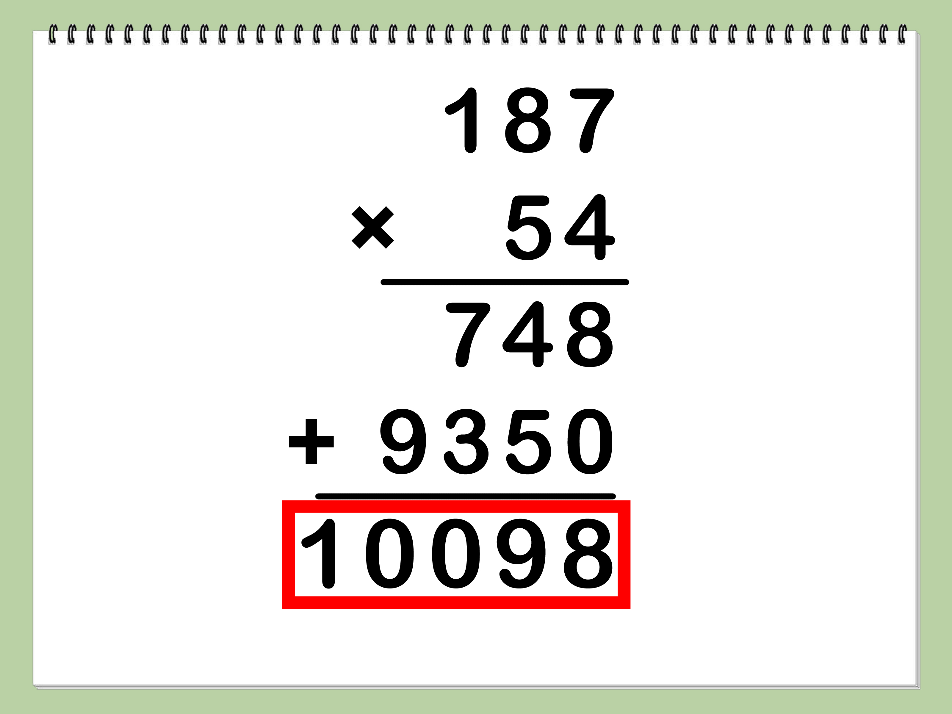 How To Multiply 11 Steps With Pictures