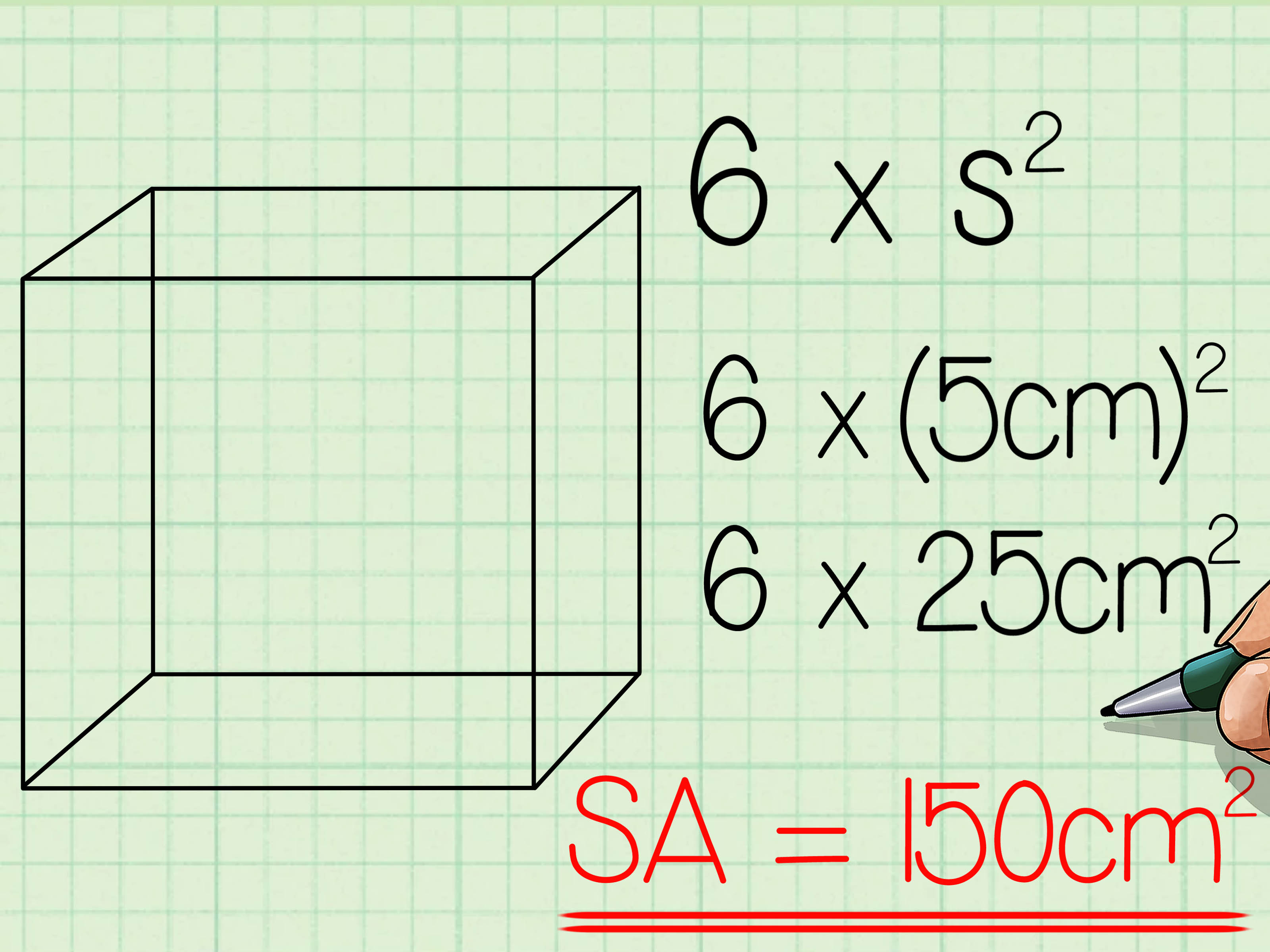 2 Easy Ways To Find The Surface Area Of A Cube