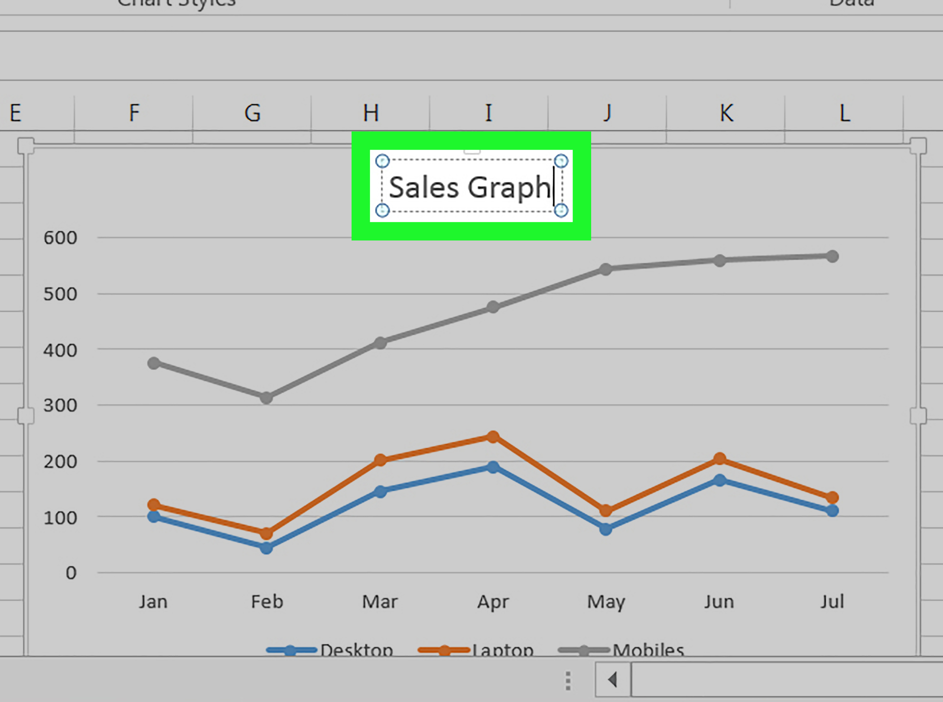 How To Make A Line Graph In Microsoft Excel 12 Steps