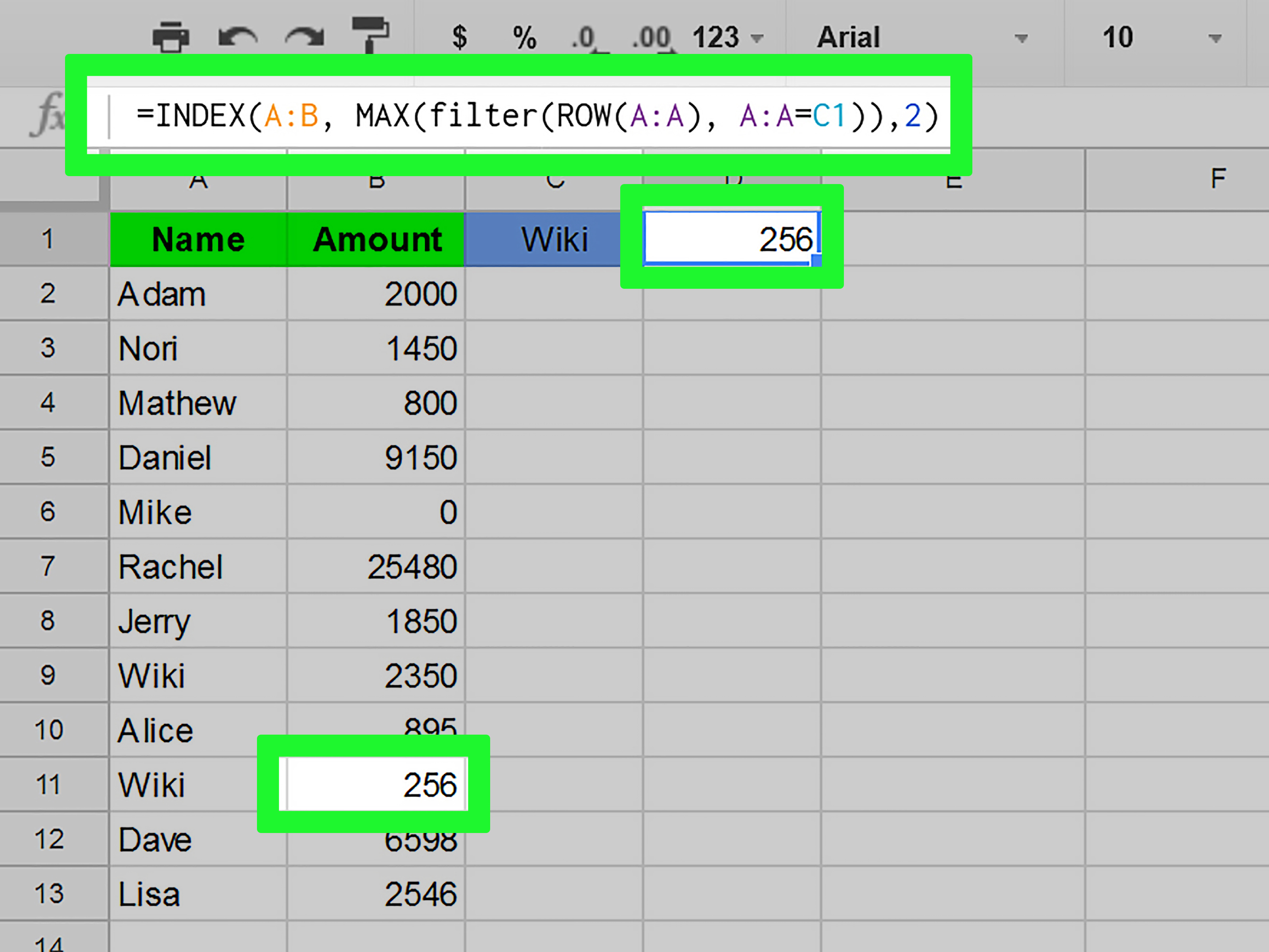 How To Do A Reverse Vlookup In Sheets 5 Steps