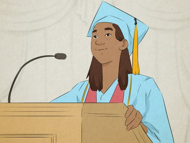 How to Make a Middle School Graduation Speech (with Pictures)