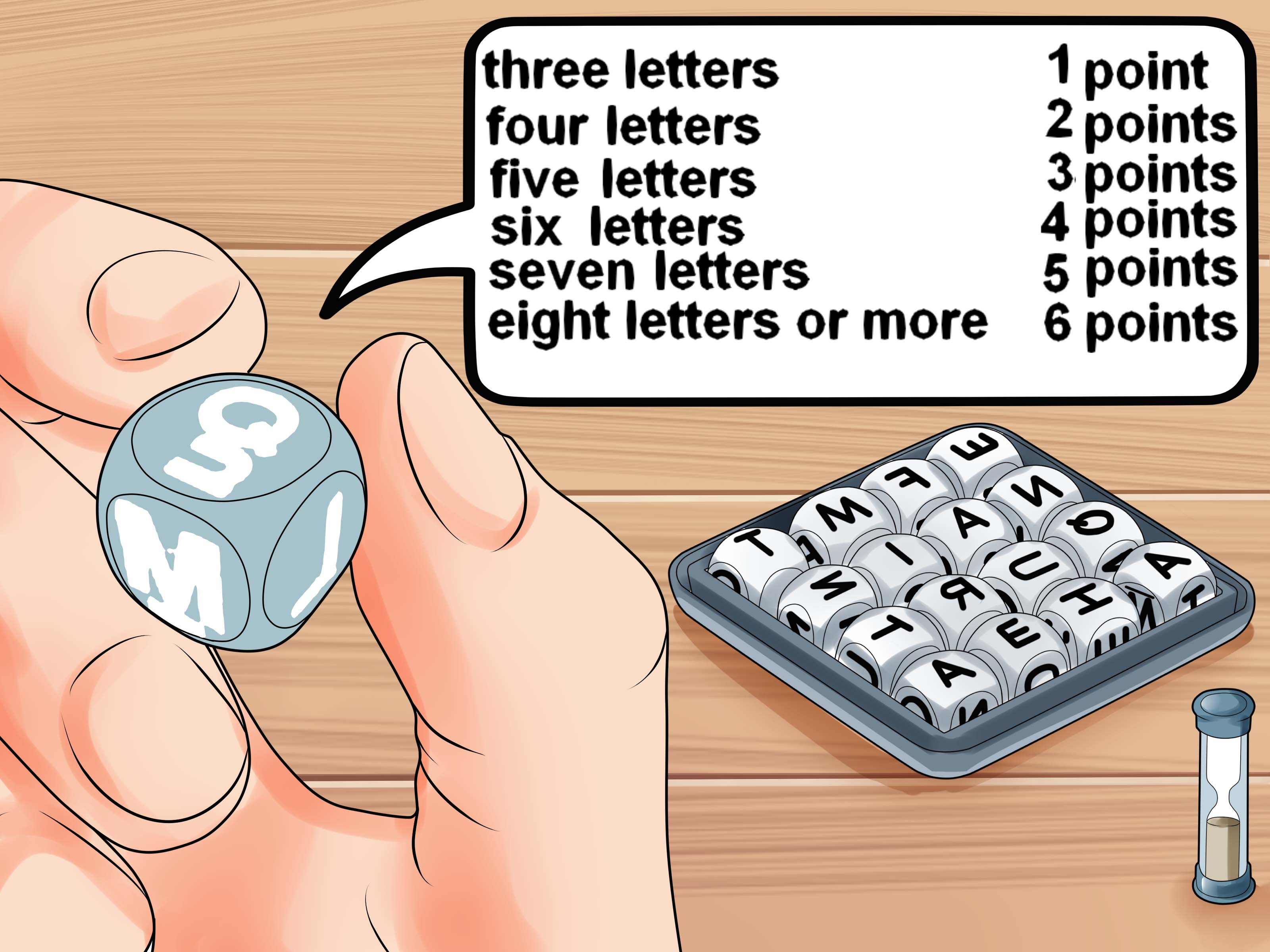 How To Play Boggle With Pictures