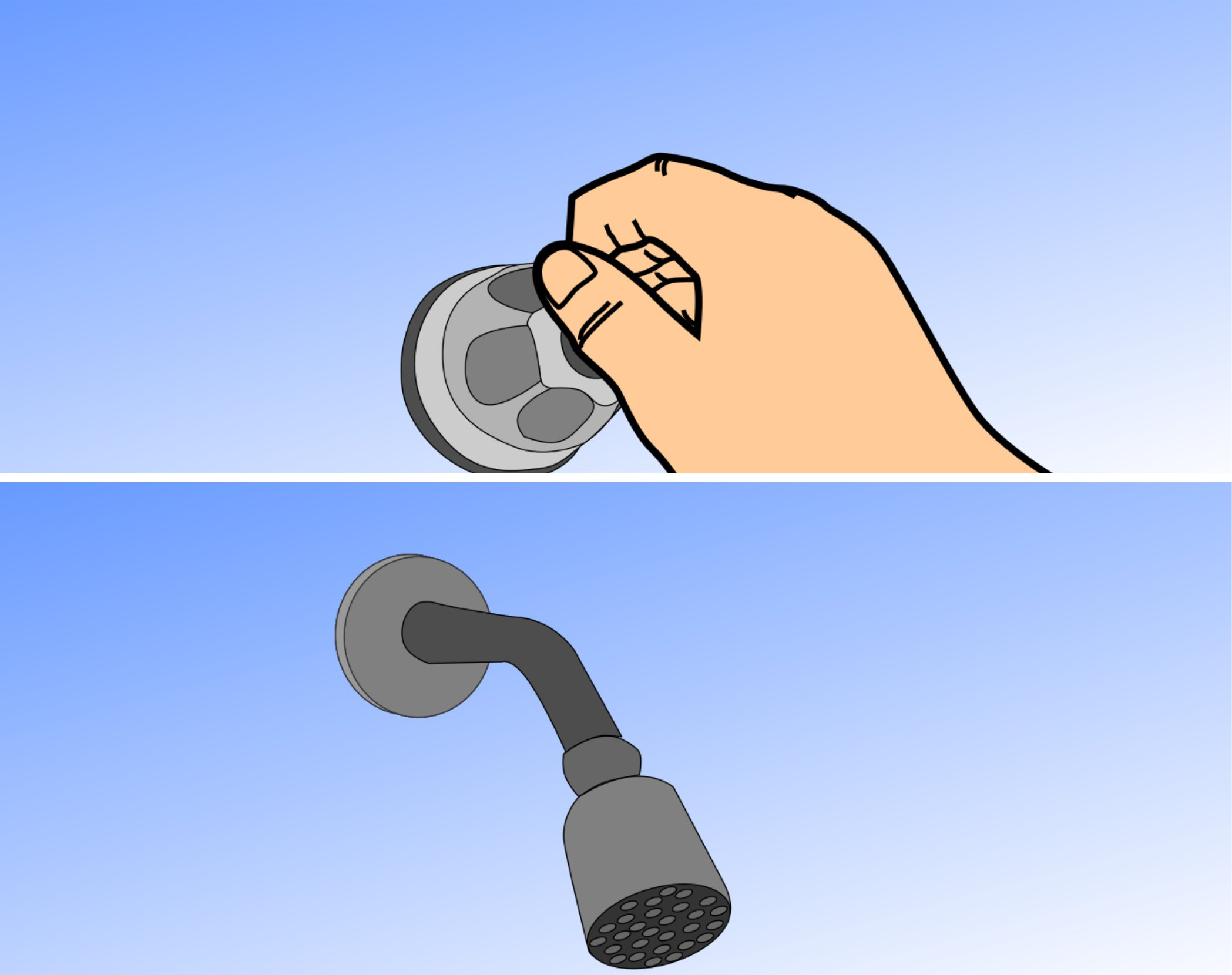 change the washer in a shower faucet