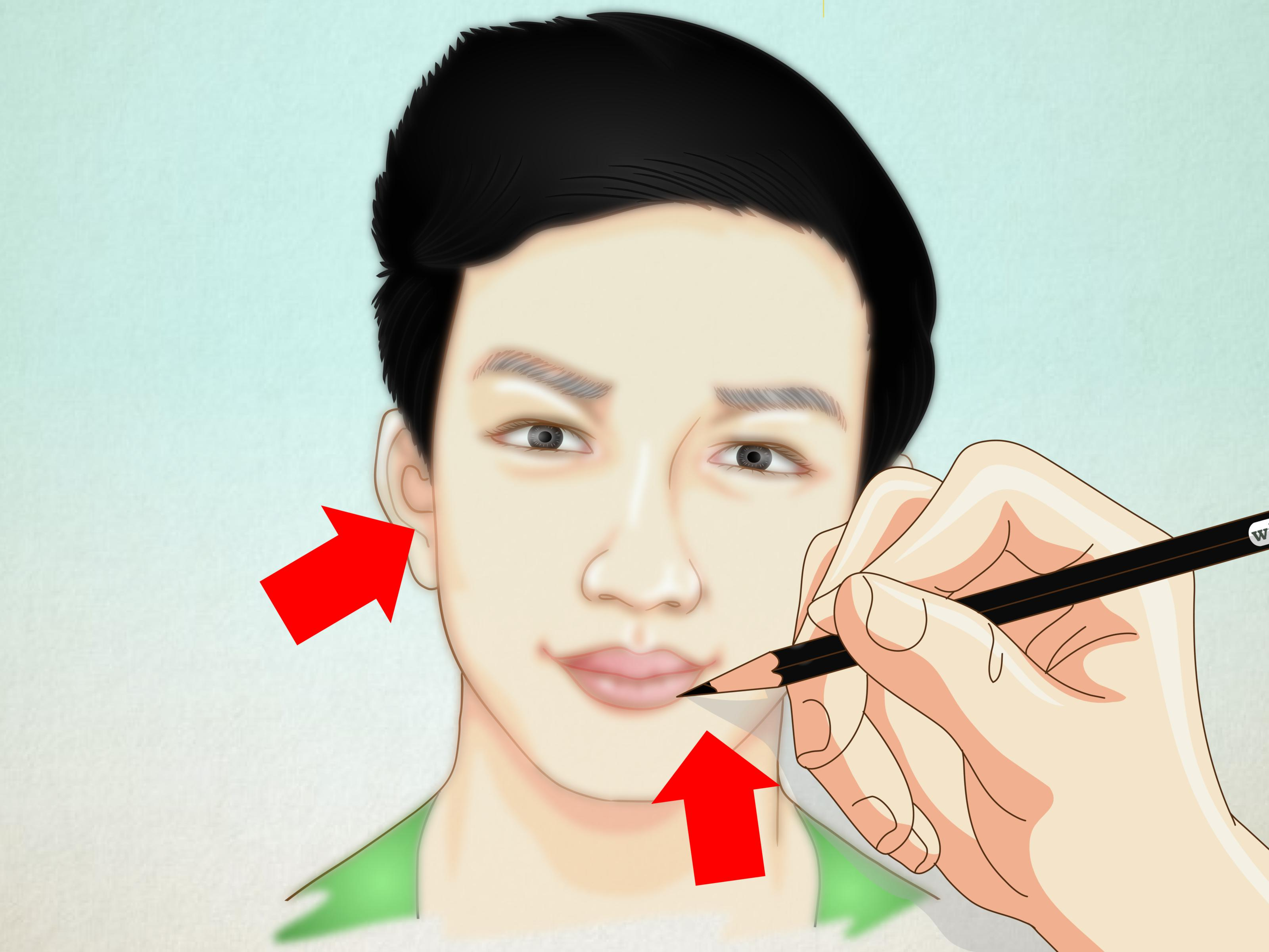 How To Draw A Self Portrait 8 Steps With Pictures