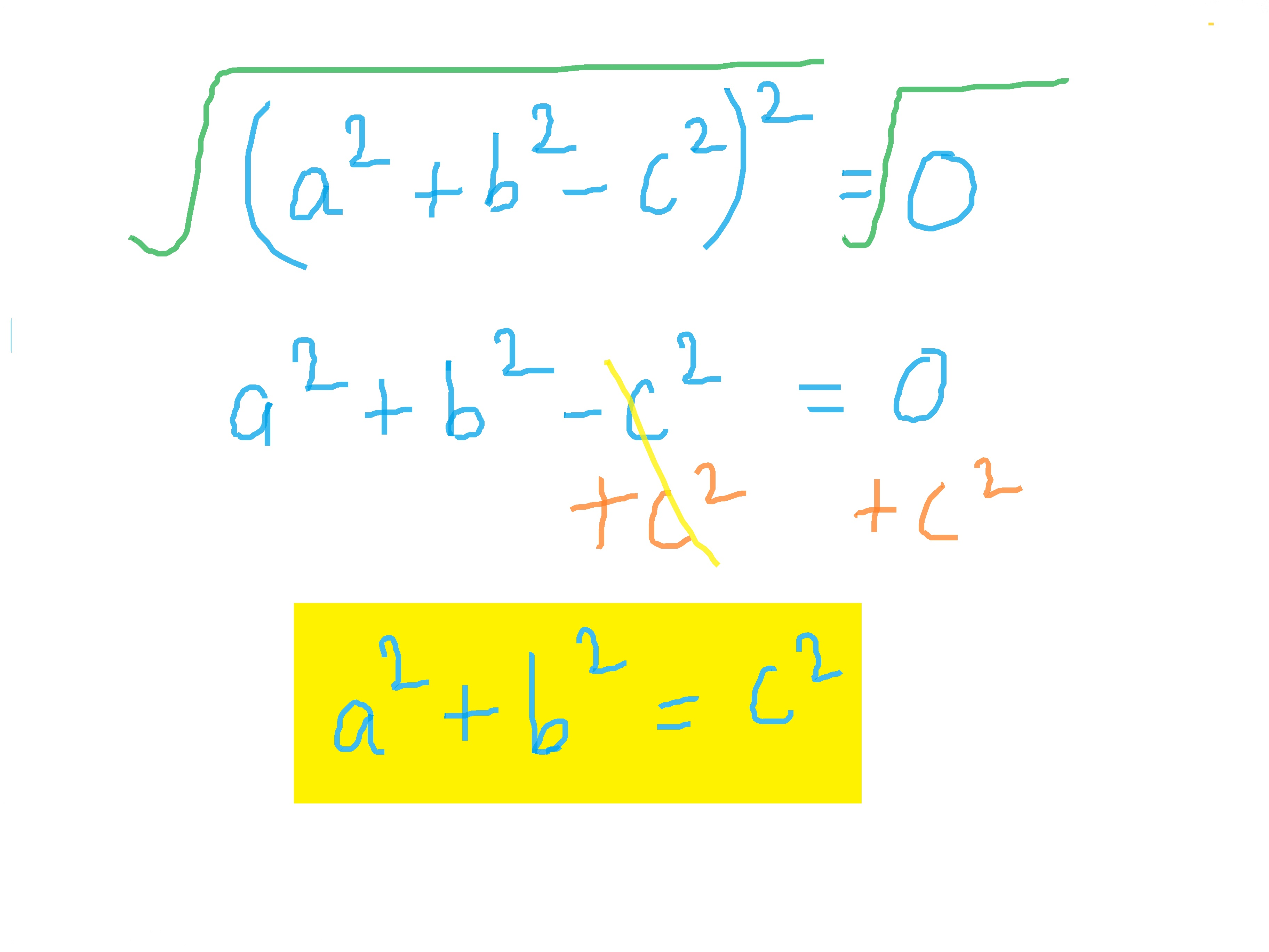 How To Derive The Pythagorean Theorem From Heron S Formula