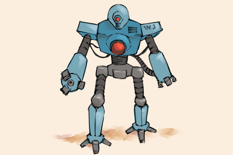 4 Ways To Draw A Robot