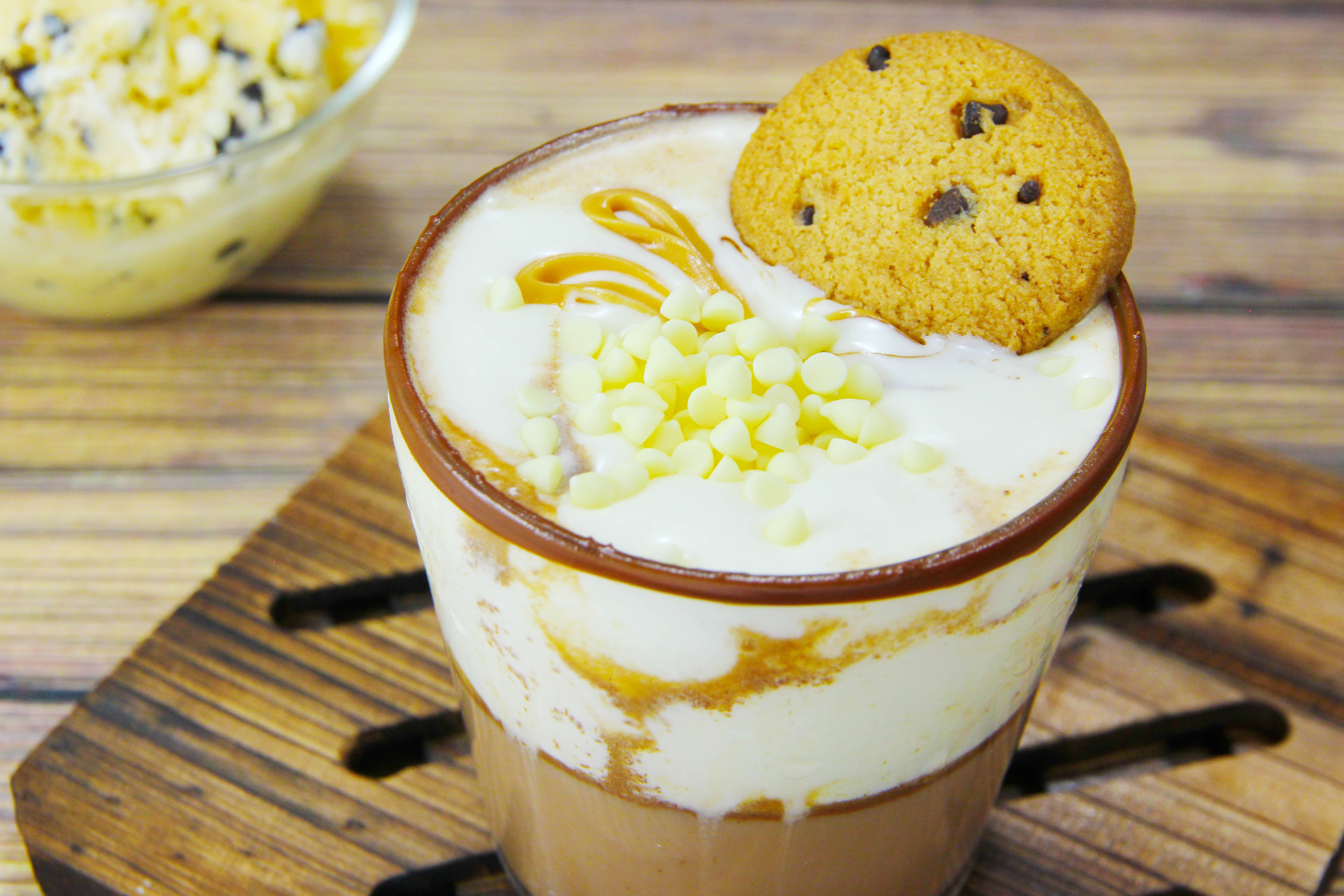 How To Make Cookie Dough Hot Chocolate 6 Steps With