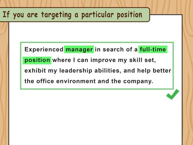 21 Ways to Write Resume Objectives - wikiHow