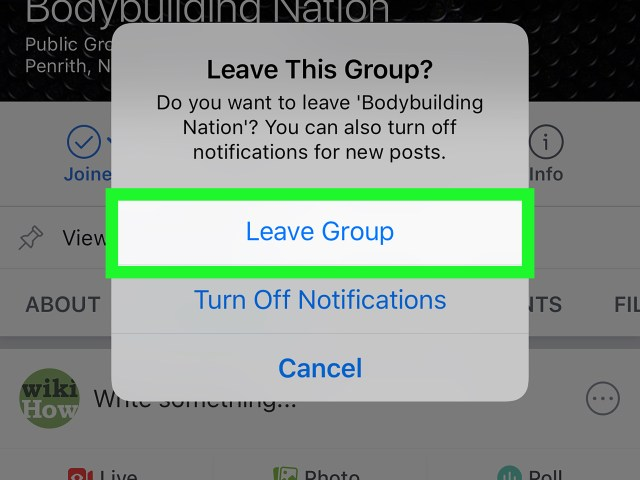 30 Ways to Block a Facebook Group on iPhone or iPad - wikiHow