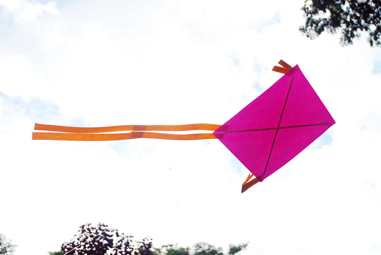 How To Make A Kite Easy 5 Steps