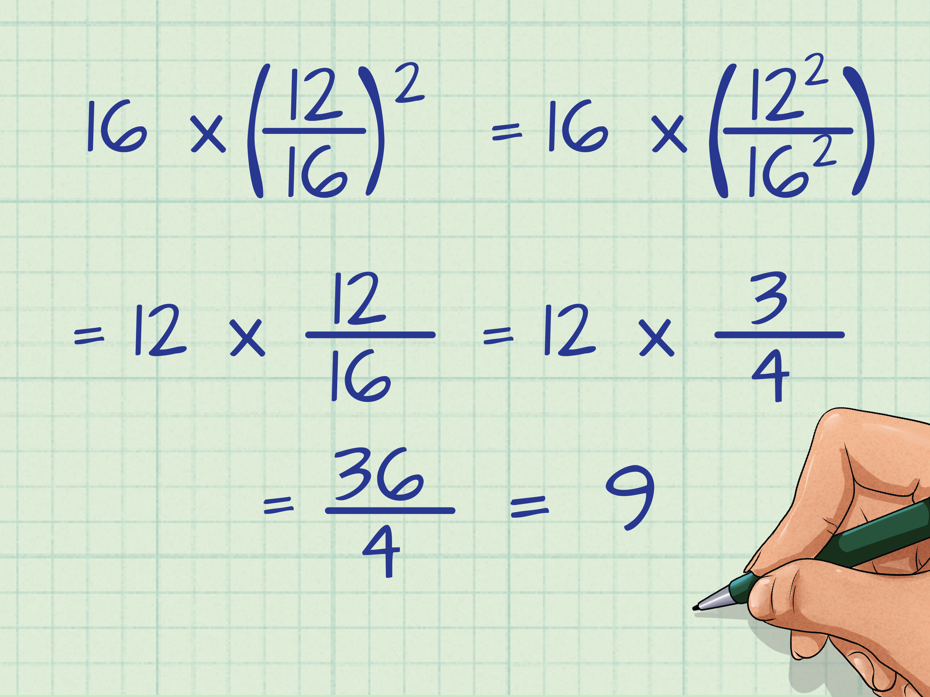 How To Square Fractions 12 Steps With Pictures