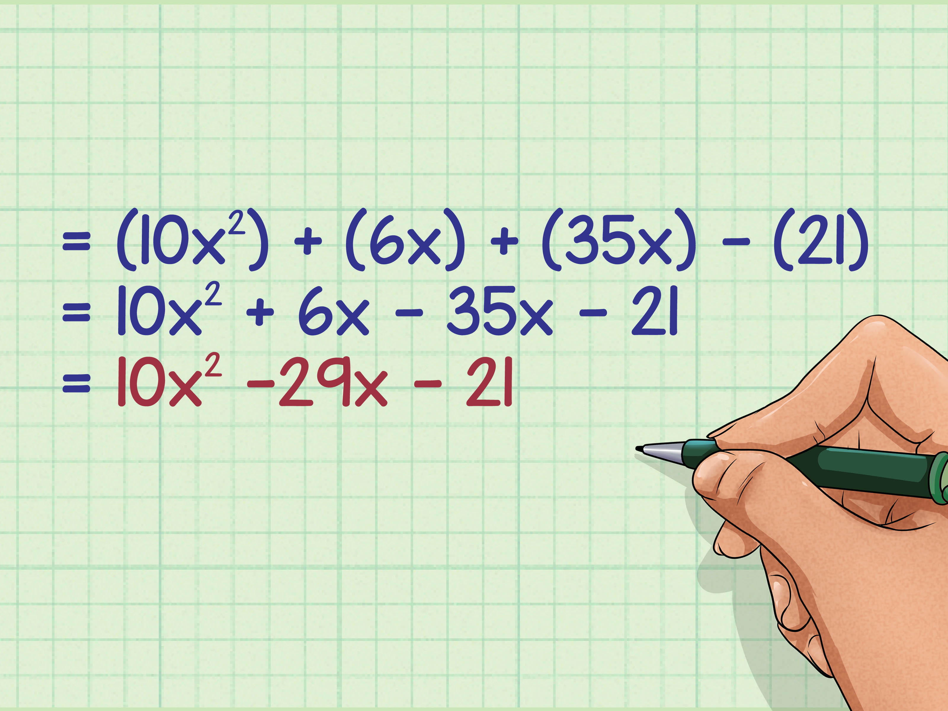 How To Multiply Binomials Using The Foil Method 9 Steps
