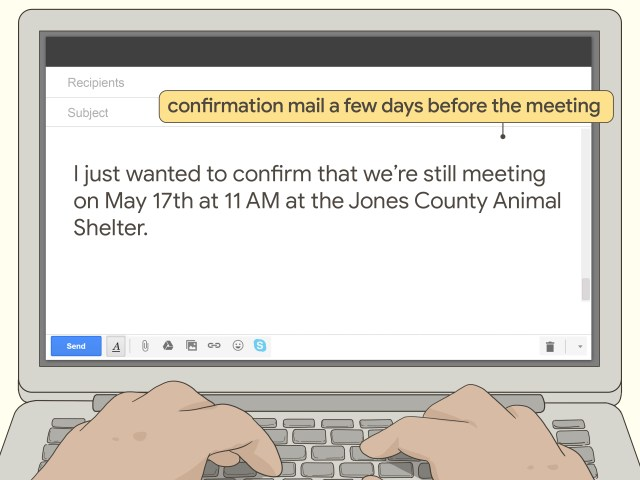 Easy Ways to Request a Meeting via Email: 9 Steps (with Pictures)
