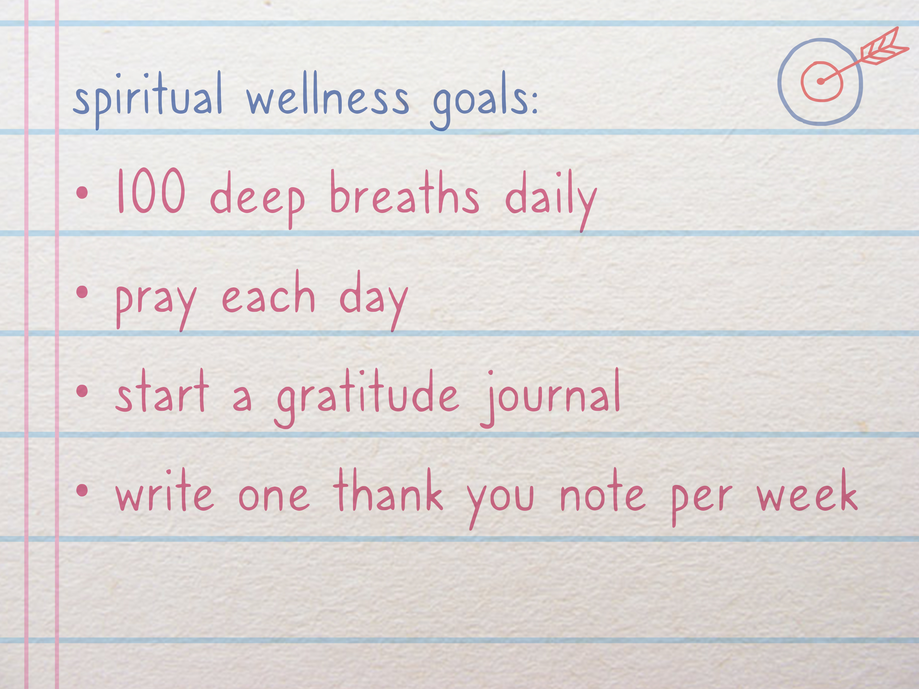 How To Create A Wellness Plan With Pictures