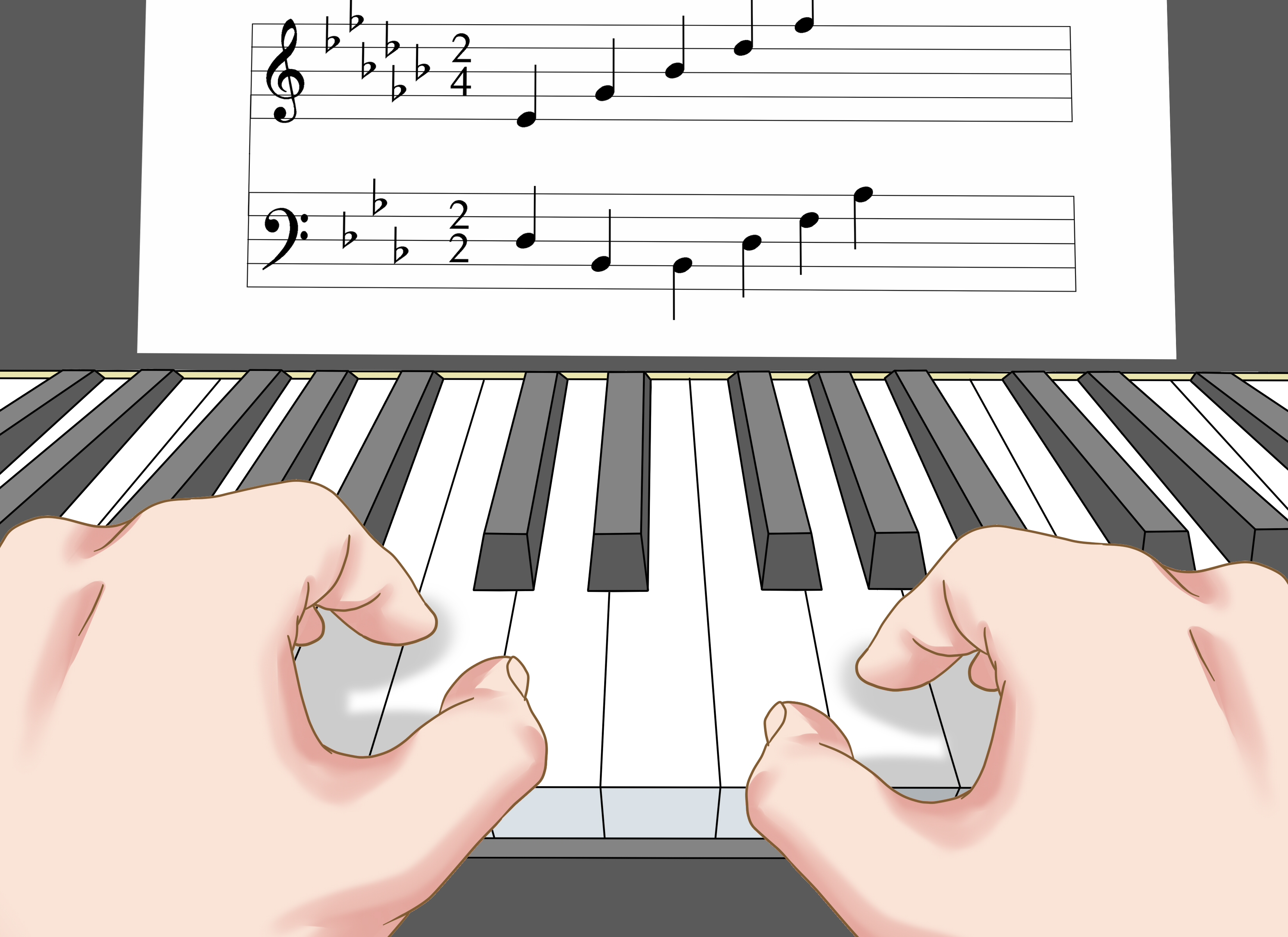 How To Learn To Read Piano Music 13 Steps With Pictures