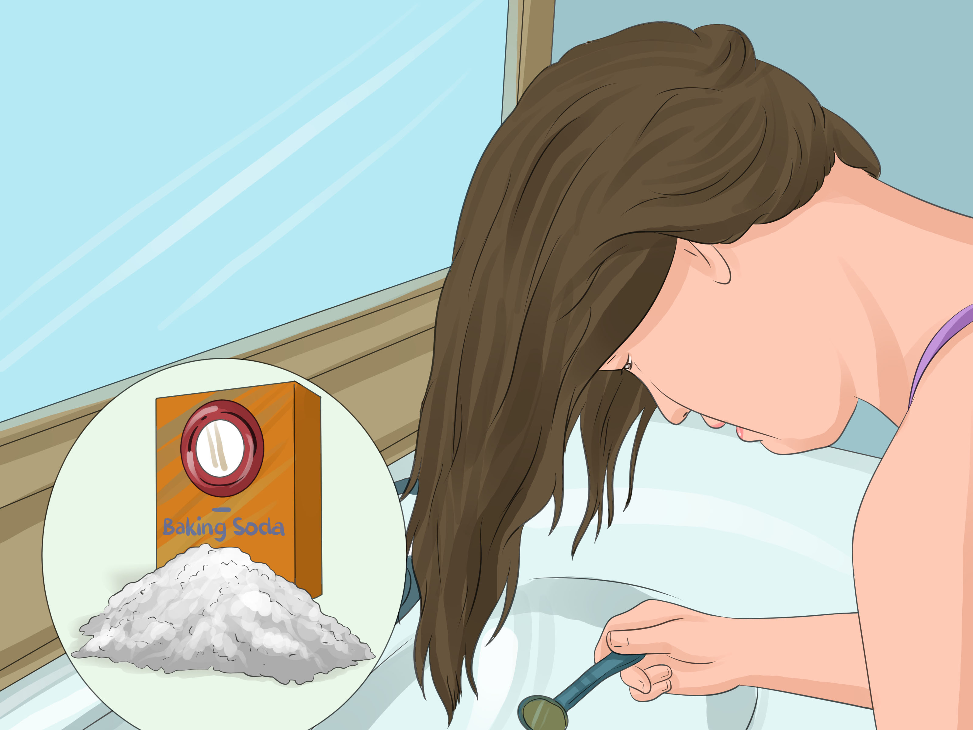 How To Lighten Dark Hair With Pictures WikiHow